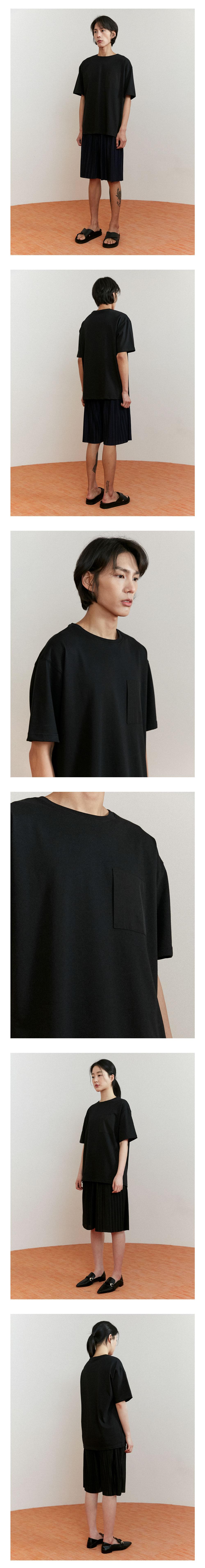 에노우(ENOU) 포켓 티셔츠_블랙(EN2AMMT503A)